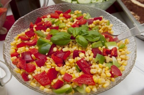 hausgemachter Maissalat